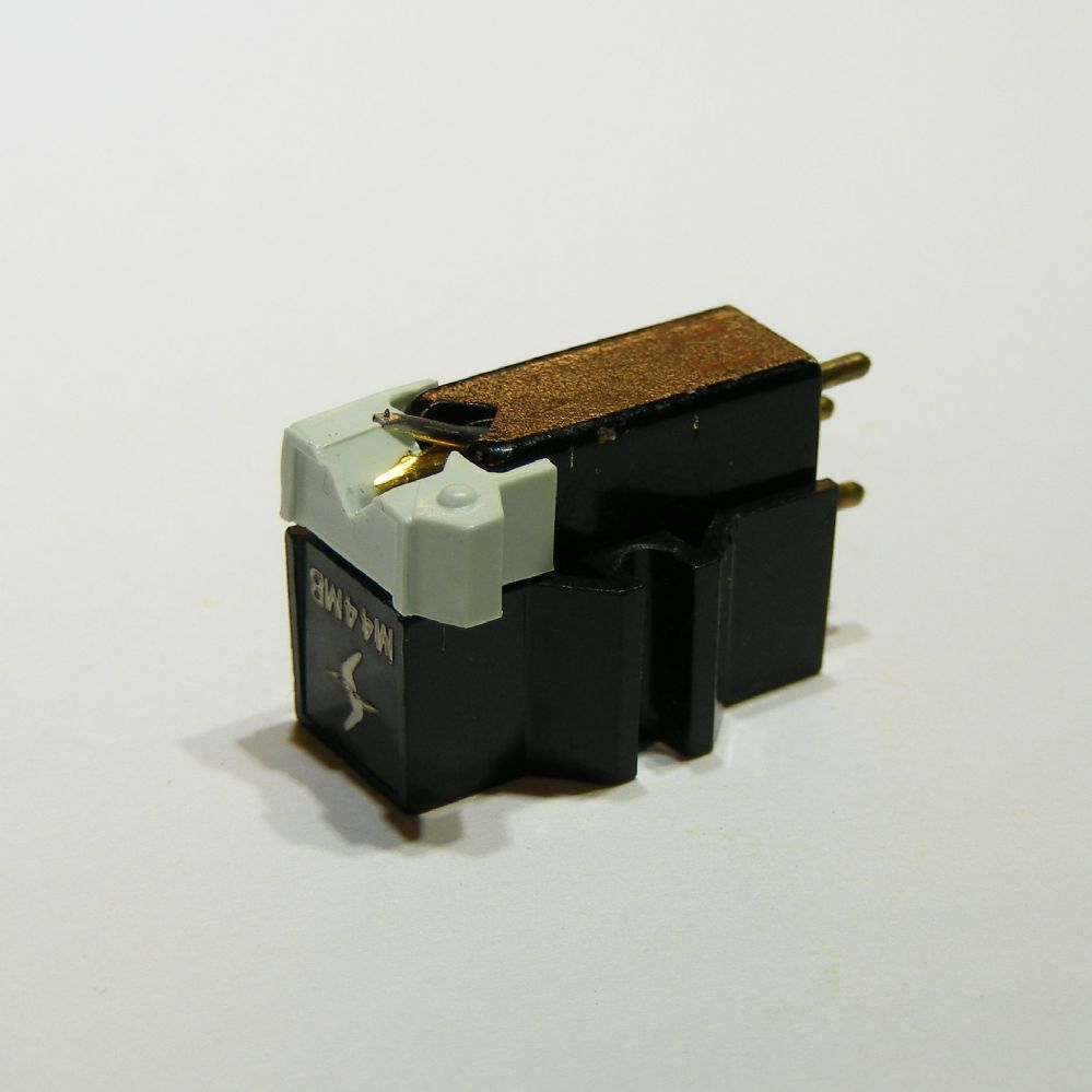 Shure M44MB Cartridge fitted with new stylus